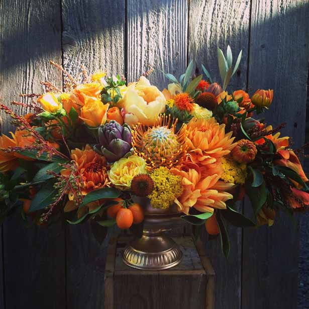 Chestnut & Vine Floral Designs, fall floral design