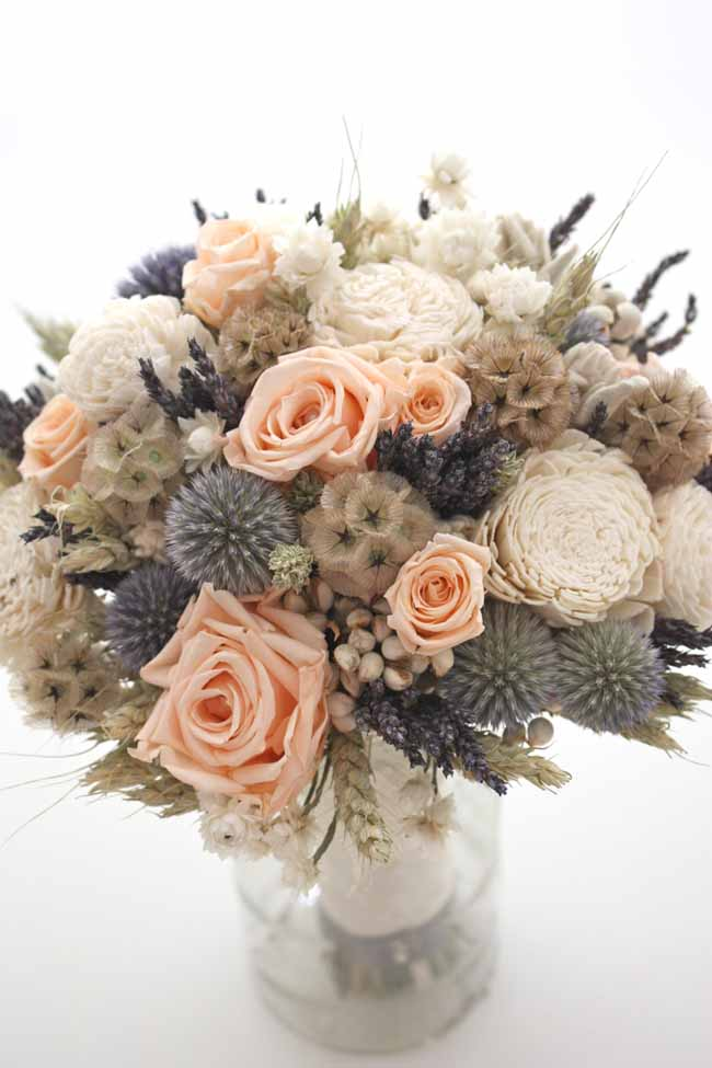 custom dried flower etsy bouquet