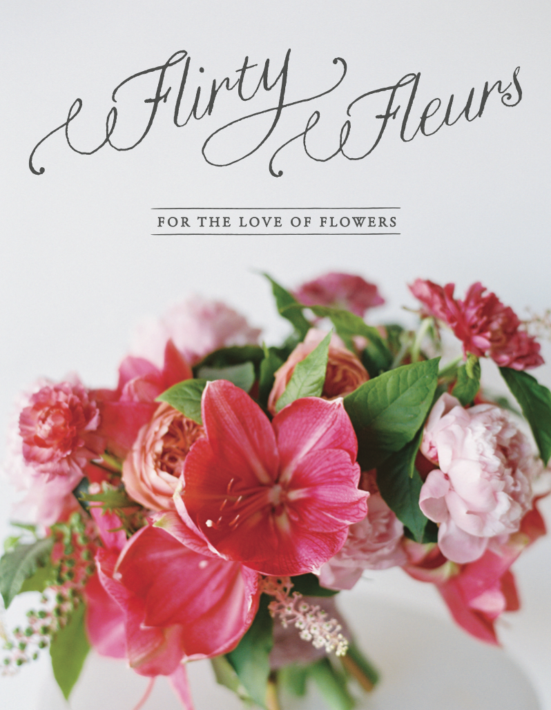 Flirty Fleurs Screenshot of Magazine Cover