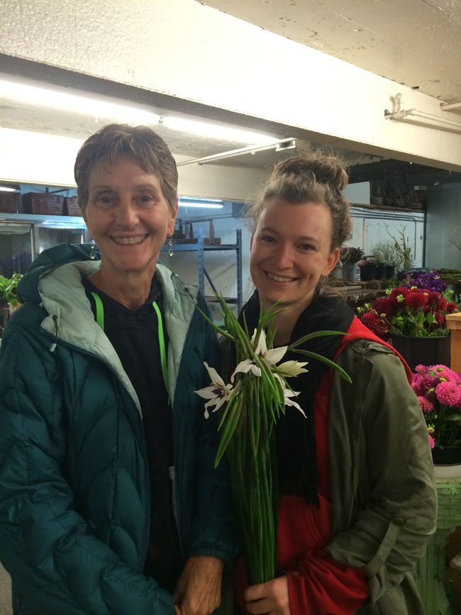 Kelly Botanique and Vivian of Everyday Flower Farm