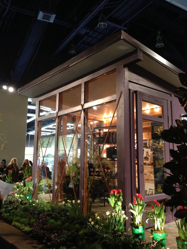 Seattle Home and Garden Show - floral design studio