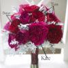David Austin Red & Magenta Roses