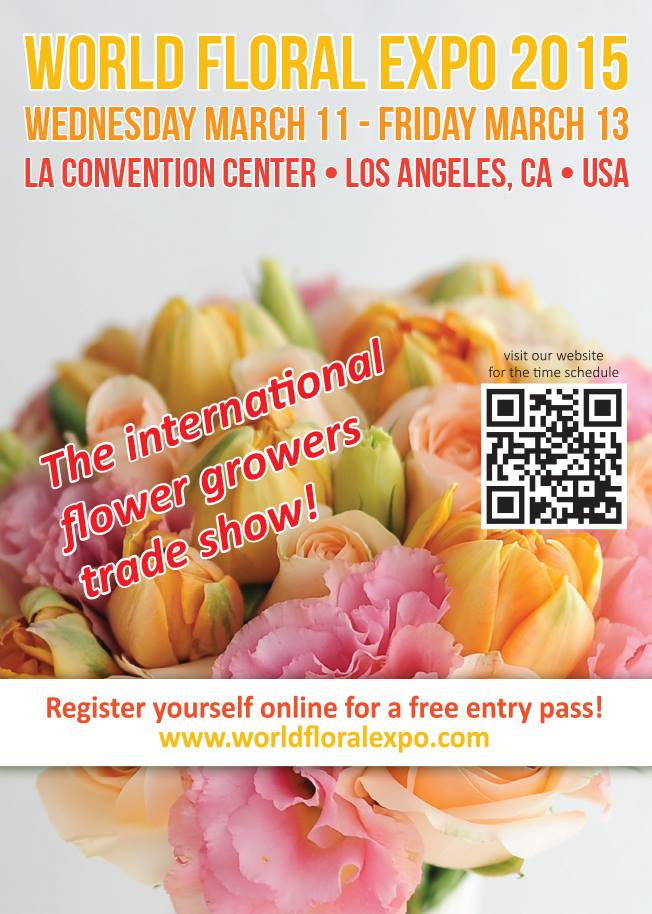WORLD FLORAL EXPO HEATING UP FOR LOS ANGELES !