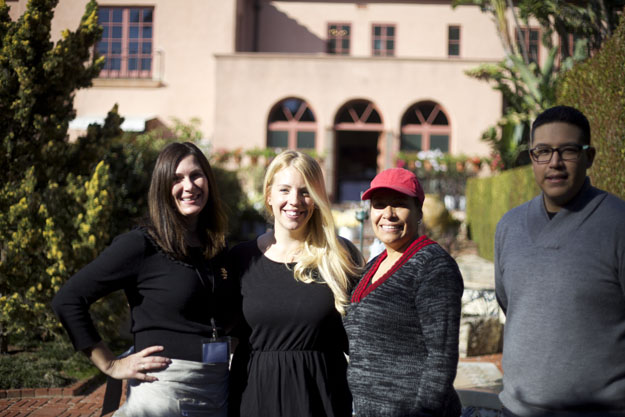 Shannon, Stacey, Rosie, and Jose