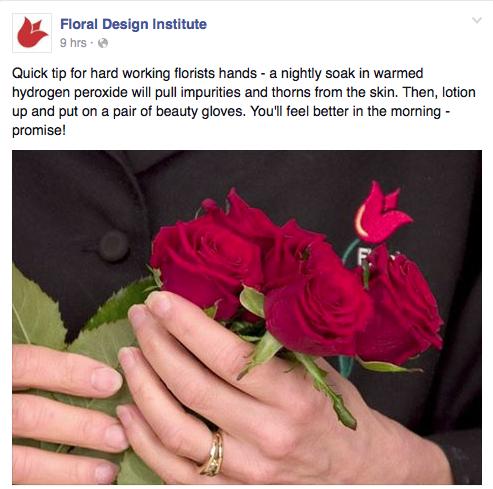 Floral Design Institute - florist advice