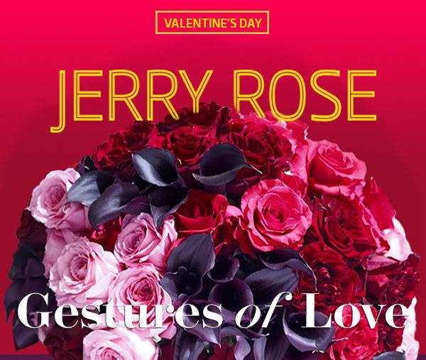 Jerry Rose Valentine's Flowers