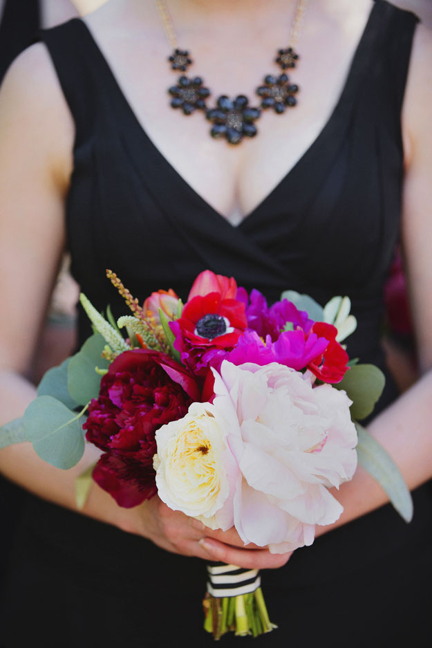 Posh Peony - Bridesmaid Bouquet with Peonies