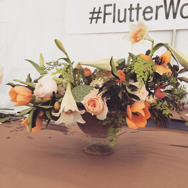 Amy Merrick floral design at Florabundance Design Days