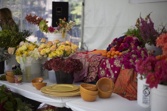Tricia Saroya's floral design