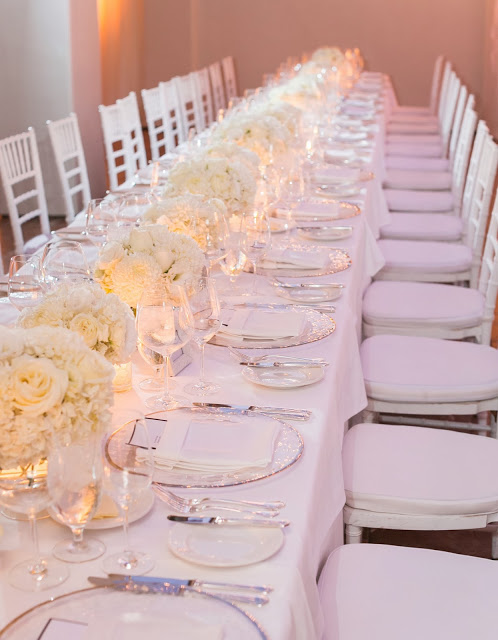 Heavenly Blooms - white centerpieces