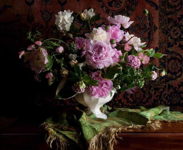 Lewis Miller - peony, rhododendron, blueberry, dianthus, sweet pea, hosta