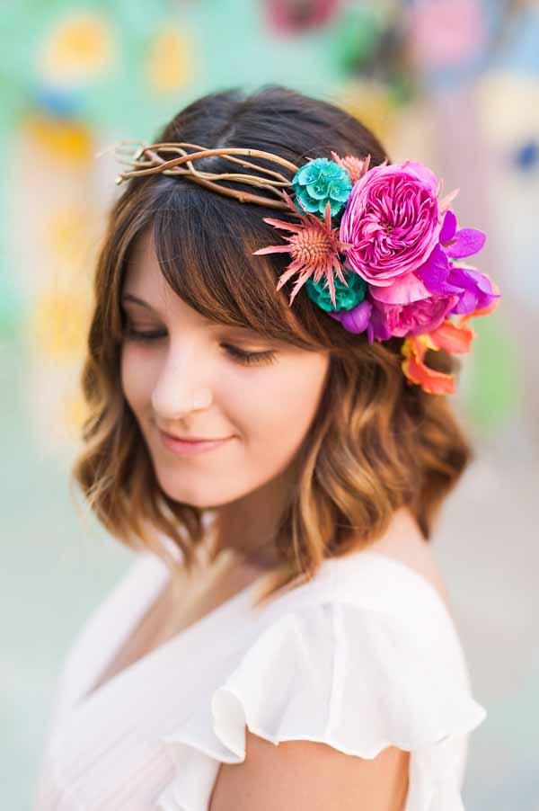 Pixies Petals, hair flowers