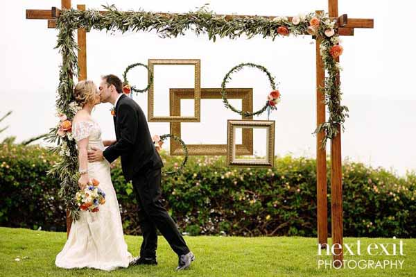 Pixies Petals - Floral Arch for ceremony
