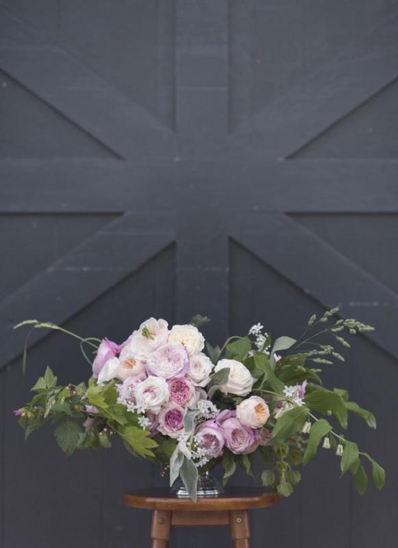 David Austin Garden Roses + Flirty Fleurs Floral Design Class