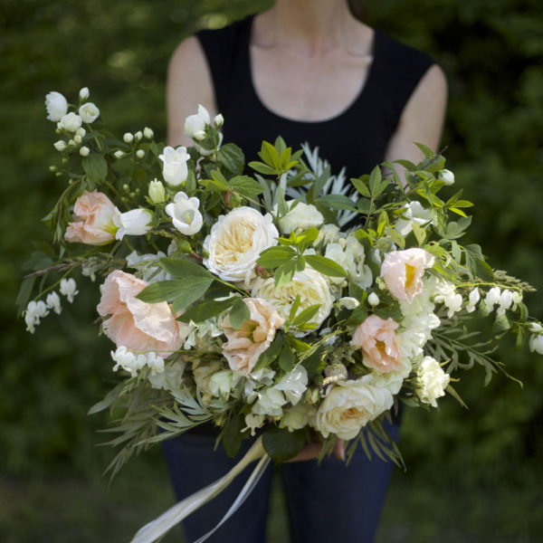 Bella Fiori, Seattle Washington. Airy bridal bouquet