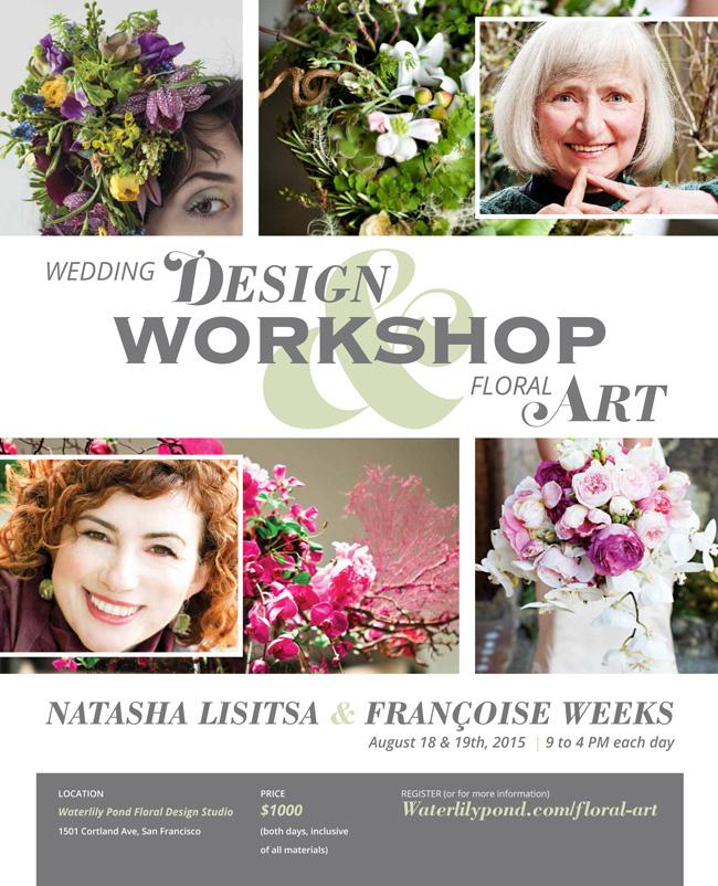 Wedding Design Workshop with Francoise & Natasha
