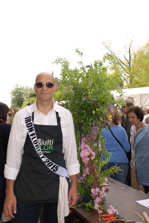 Iron Florist 2015 Winner Nick Perez