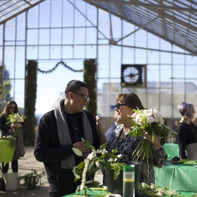Florabundance Design Days 2016 - Jose of Florabundance and Nancy of Destiny Hill Farm