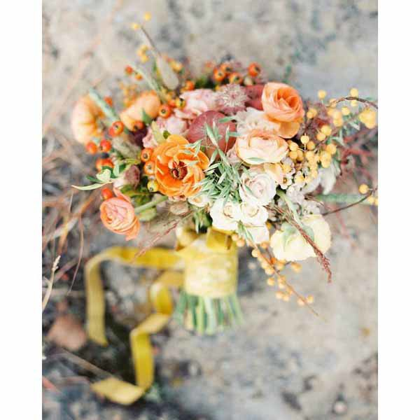 Bare Root Flora - Sara Hasstedt - Fall Floral Bouquet - Colorado Weddings