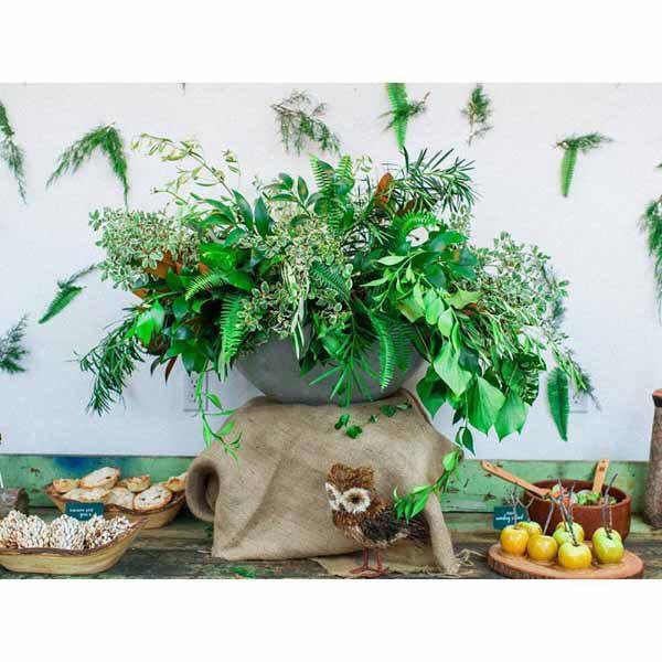 Bare Root Flora - Shannon Von Eschen - Green foliage arrangement - Colorado