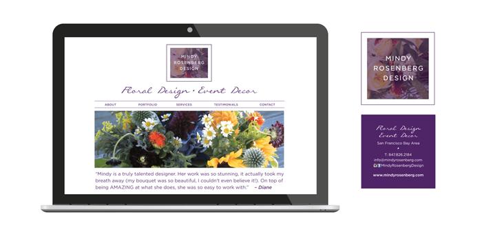Kimberly Schwede Graphic Design - Website Design for Florists