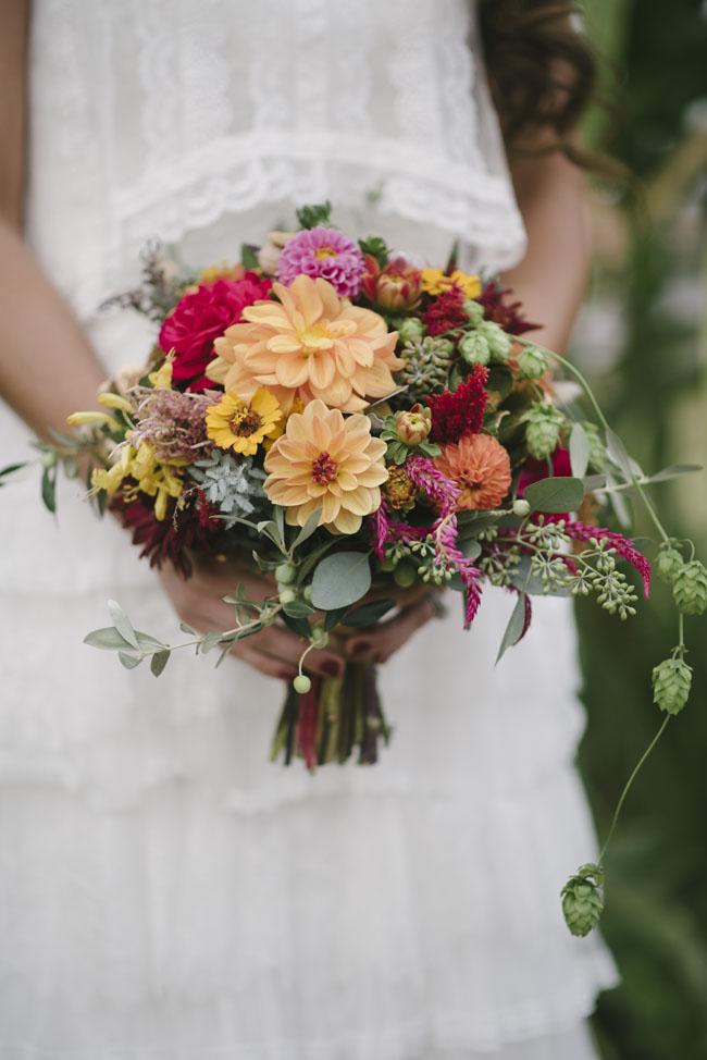Fleurie Flowers, Reedley, California, autumn floral bouquet