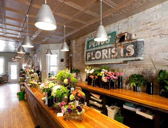 flower shop interier