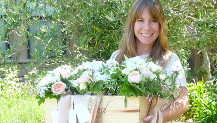 Anna Hoffman of Loop Flowers