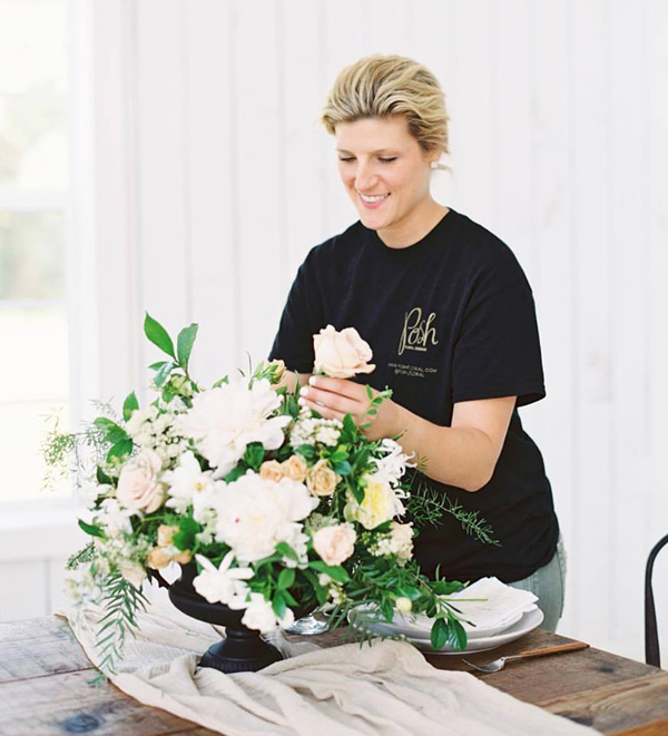 Angie of Posh Floral Design