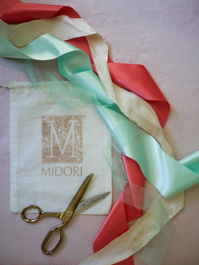 Midori Ribbon featured on Flirty Fleurs 2