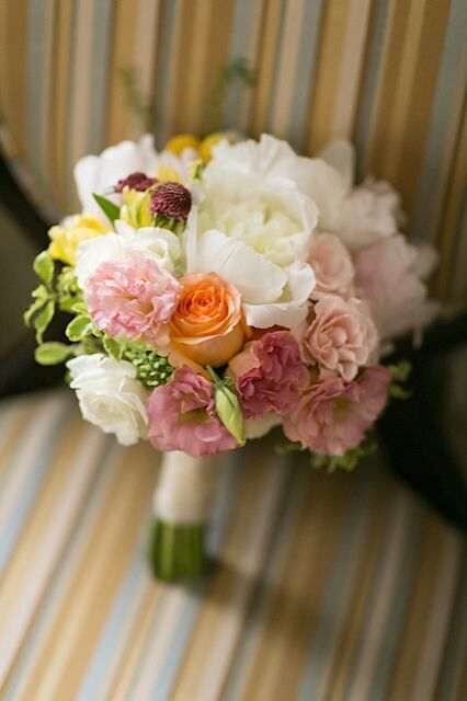 Bouquet designed by Rachel Cho Floral Design