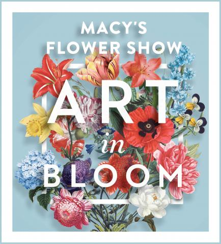 artwork for Macy's Flower Show