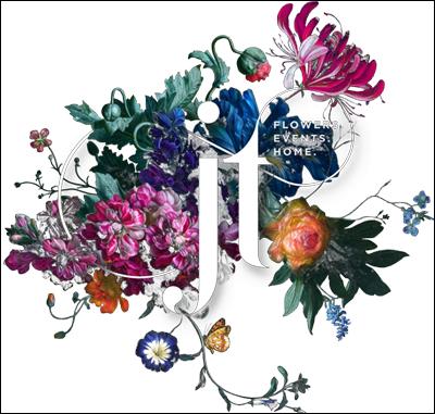 Julia Testa floral design logo