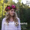 A Flower Halo Workshop – Seattle, Washington