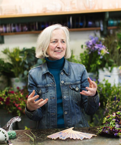 Francoise Weeks, Portland, Oregon floral designer and instructor