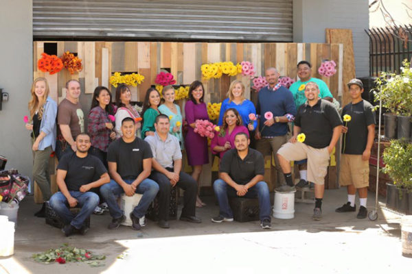 The team at Hidden Garden Floral Studio