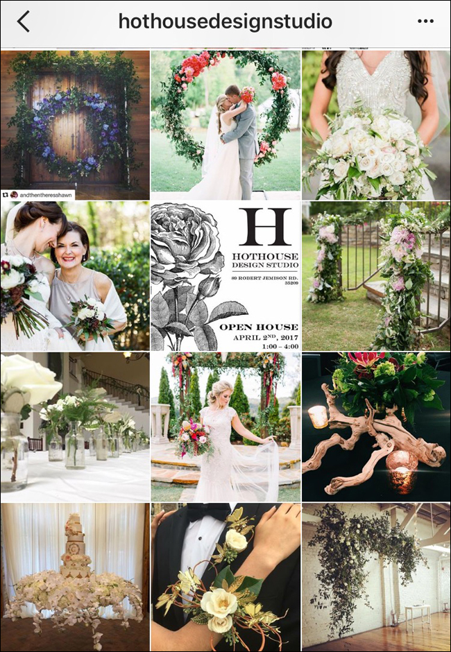 HOTHOUSE Design with Mandy Maverick AIFD - AIFD Designers to Follow on Social Media
