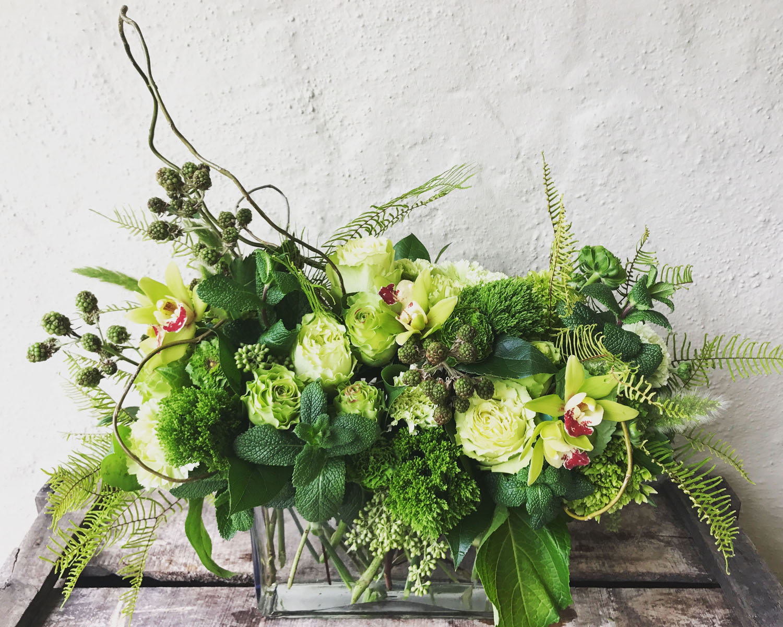Green-Bouquet-Floral-Design