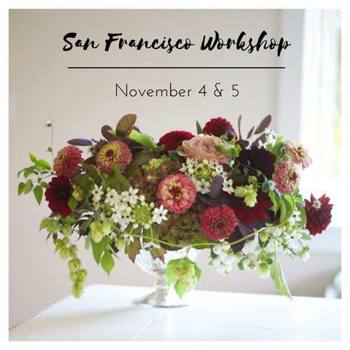 San Francisco – Floral Design Workshop
