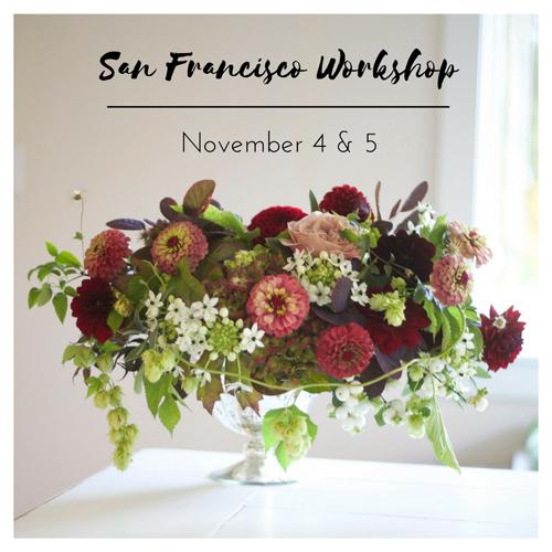 Floral Design Workshop by Flirty Fleurs in San Francisco, California