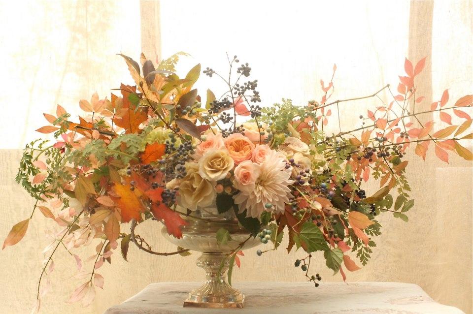 compote floral design