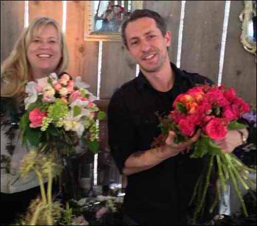 chuck and alicia of flirty fleurs