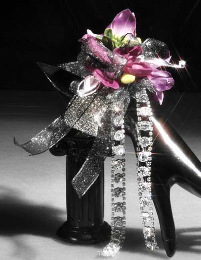 bling corsages for prom