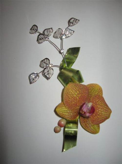 phal orchid boutonniere
