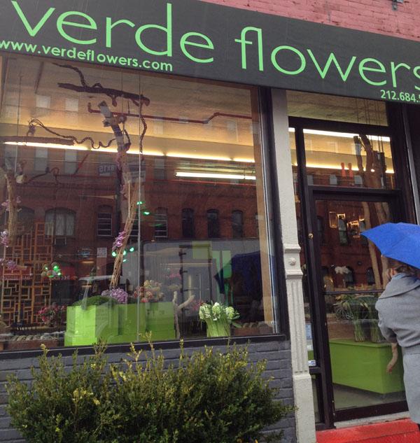 verde flower shop bronx