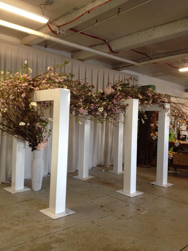 flower branches sculpture