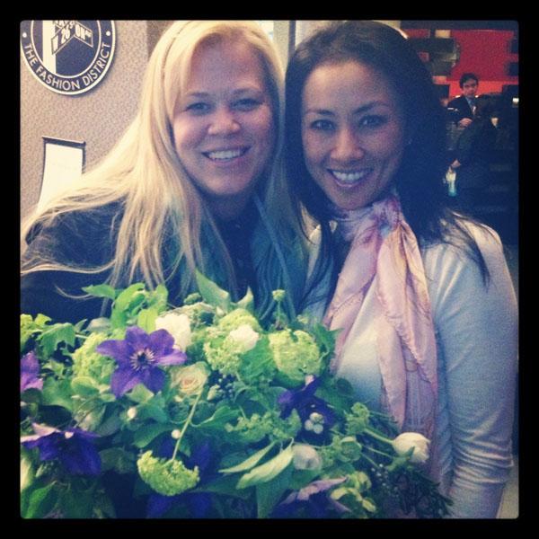 Alicia Schwede and Karen Tran