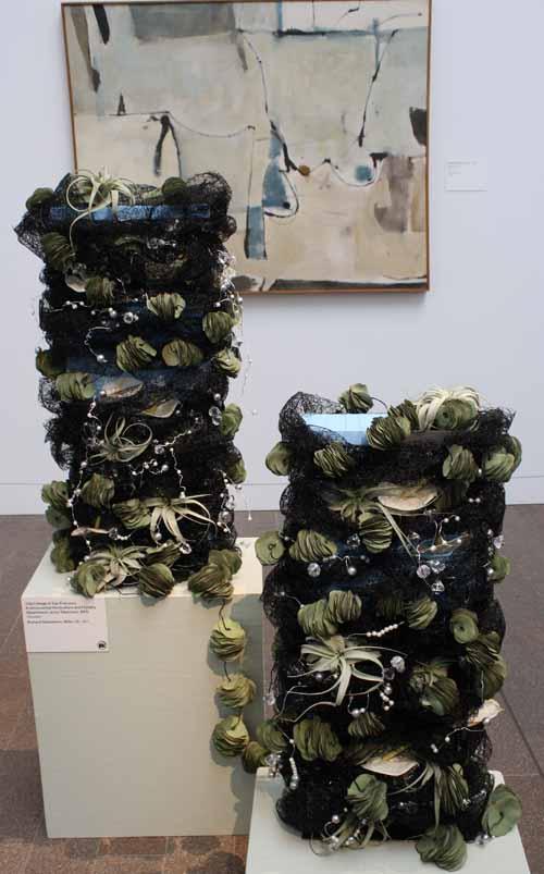 Floral Designer: City College of San Francisco. Art Piece: Richard Diebenkorn, Miller 22