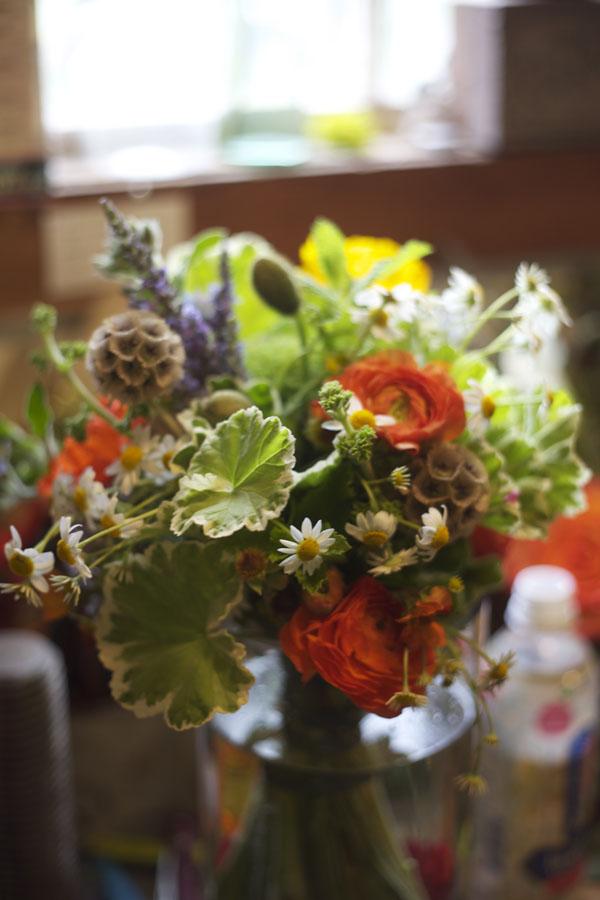 herb bridal bouquet