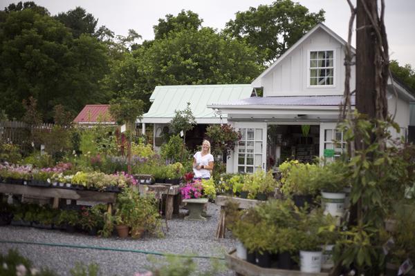 Morgan at Petals and Hedges